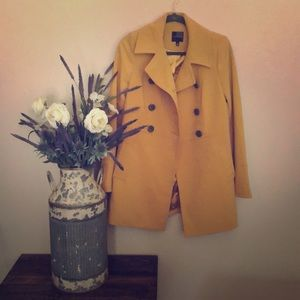 Limited yellow Pea Coat